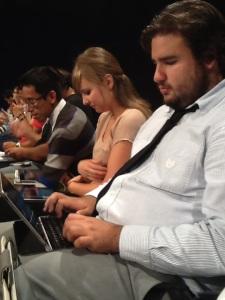 Live tweeting 2013 election